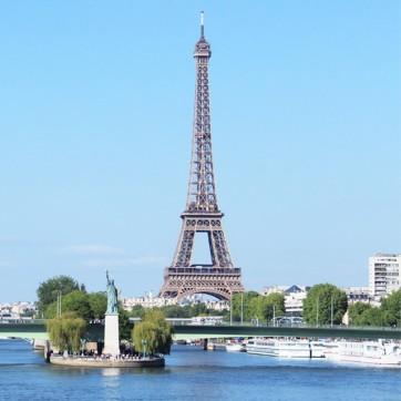 Tour Eiffel + Statue de la Libertée